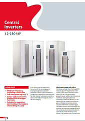 CENTRAL INVERTERS